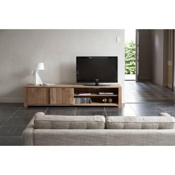 Meuble TV LODGE Ethnicraft - Vente meubles et mobilier design Toulon ...