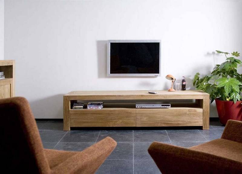 meuble tv double ethnicraft vente meubles et mobilier design toulon tendance d co. Black Bedroom Furniture Sets. Home Design Ideas
